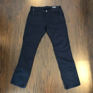 BONOBOS Deep Navy BLUE Slim Fit CORDUROY PANTS